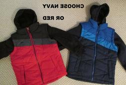 NEW Pacific Trail Vested Colorblock Winter Jacket BOYS SIZE