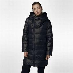 NEW Nike Women's Down Fill Parka Jacket Black 854759-010 Zip