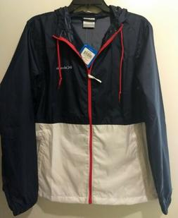 NEW Columbia women's wind breaker light jacket size large
