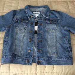New, Womens, Between Us short waisted Blue Denim Jacket, S