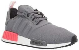 adidas Originals Men's NMD_R1 Running Shoe, Grey/Shock red,
