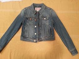 nwot women's denim jacket xs by Mossimo