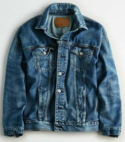 NWT $70 American Eagle Women's Boyfriend Denim Jacket XXL 2X