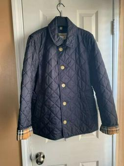 NWT Authentic Burberry Frankby 18 Quilted Jacket Size XLarge