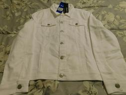 NWT Buffalo David Bitton Knit Stretch Denim Jean Jacket Wome