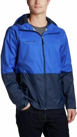 NWT Columbia Men's Roan Mountain Rain Waterproof Wind Hooded