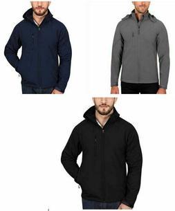 NWT Men's Kirkland Signature Sherpa Fleece Lined Full Zip Ja