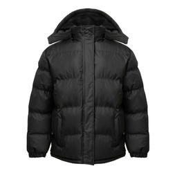 NWT Men's WARM Puffer Jacket Bubble Coat Fleece lined Zip-