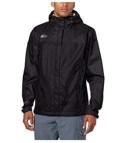 NWT The North Face Men's Venture Rain Jacket Water Proof Bla