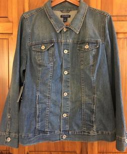 NWT Bandolino Jeans Women's Roxy Indigo Denim Cotton Blue Je