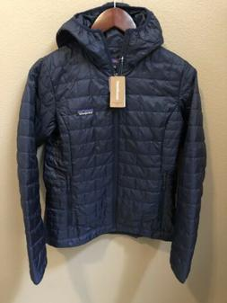 NWT Patagonia Women's Nano Puff Hoody Jacket Medium Classi