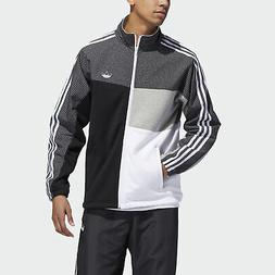 originals asymm full zip track jacket men