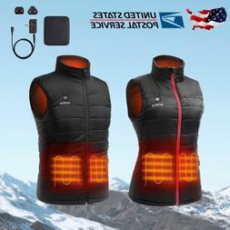 ORORO Men Women Heated Vest with Battery Pack Winter Sleevel