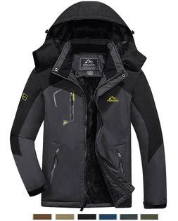 Outdoor Men's  Waterproof Ski Jacket Winter Warm Jackets Sno
