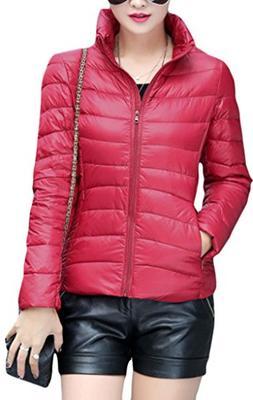 Z-SHOW Womens Outwear Light Packable Down Coat Powder Pillow