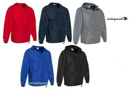 packable anokrak rain jacket 1 4 zip