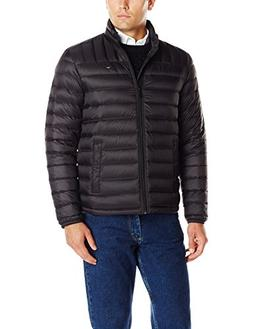 Tommy Hilfiger Men's Packable Down Jacket , Black, X-Large