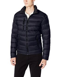 Calvin Klein Men's Packable Down Jacket, Navy, X-Large