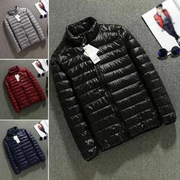 Packable Lightweight Men's 90% Duck Down Jacket Outerwear Wi