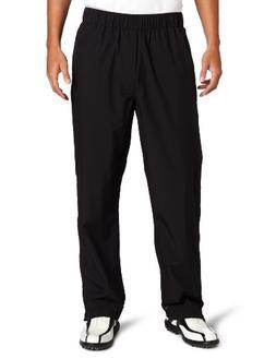 Zero Restriction Men's Packable Pant Packable Rain Pant, Bla