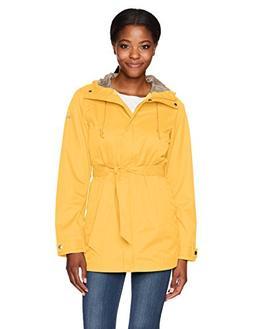 Columbia Women's Pardon My Trench Rain Jacket, Yellow Ray, M