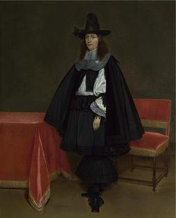 The Perfect Effect Canvas Of Oil Painting 'Gerard Ter Borch
