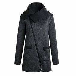 Goddessvan Plus Size Sweatshirt, Womens Long Sleeve Jacket C
