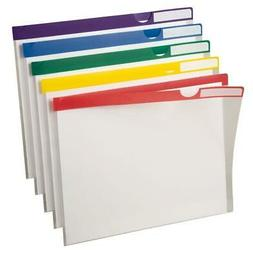 Pendaflex Poly Index Folders, 10 Pack, Letter, Assorted