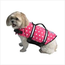 Paws Aboard PP1100 Pink Polka XX Small