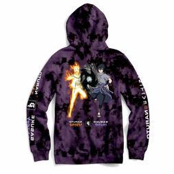 Primitive Mens Hoodie Sweatshirt Jacket POWERS Sasuke Naruto