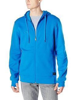 Oakley Men's Protection Full Zip, Skydiver Blue, Large
