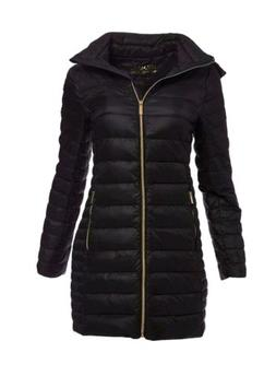 Michael Kors Puffer Jacket Down Mk Packable Quilted Coat Wom