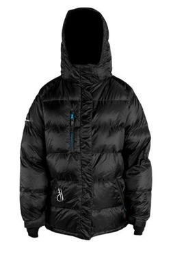 High Society Men's Pyramid Down Jacket, Black, Small