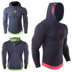 Quick Dry Gym Fitness Workout Men Jacket Exercise Bodybuildi