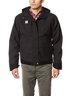 Carhartt Men's Quick Duck Harbor Jacket,Black,Large