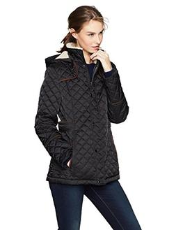 Haven Outerwear Women's Quilted Barn Jacket With Faux Sherpa