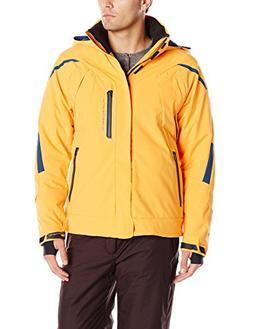 Obermeyer Men's Ranger Jacket, Maize, Large