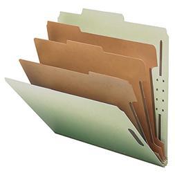 Smead 100% Recycled Pressboard Classification File Folder, 3