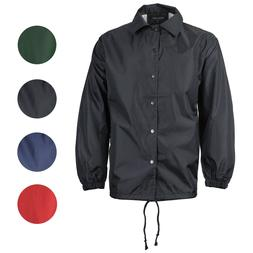 Renegade Men's Lightweight Water Resistant Button Up Windbre