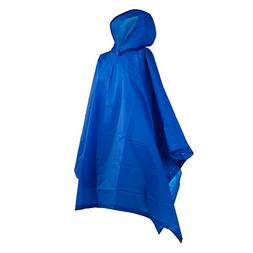 Totes Royal Blue Adult Rain Poncho