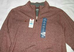 Izod Saltwater 1/4 Zip Pullover Jacket, Nauset Light Fleece,