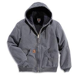 Carhartt Sandstone Active Jacket - Men's Gravel, M