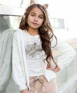 JOYFOLIE SAOIRSE HOODIE JACKET Girls Sizes 10