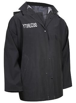 security rain jacket black tactical waterproof outerwear