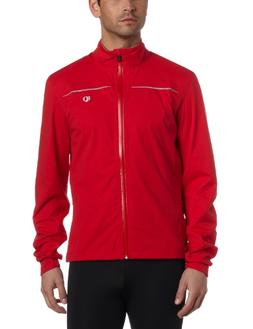 Pearl iZUMi Men's Select Barrier Wxb Jacket,True Red,Small