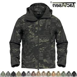 shark skin soft shell mens military jackets