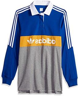 adidas Originals Men's Skateboarding Heritage Polo, Collegia