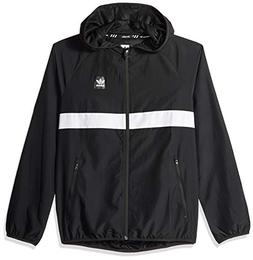 adidas Originals Men's Skateboarding Packable Wind Jacket, B