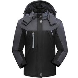 CROTI Men's Ski Jackets Waterproof Windproof Fleece Jackets