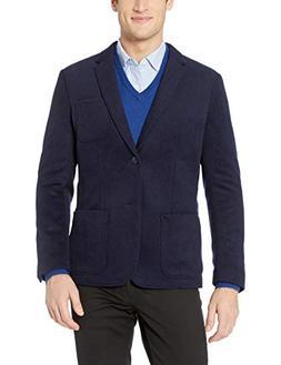 Goodthreads Men's Slim-Fit Wool Blazer, Navy, Medium